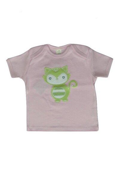 Baby T-shirt Grün Mit Motiv
