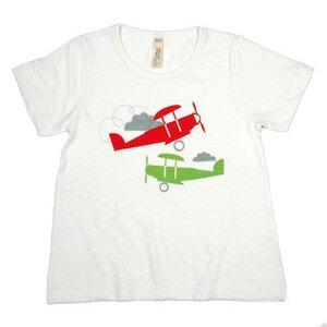 Kinder T-Shirt mit Motiv Flugzeug - sense-organics