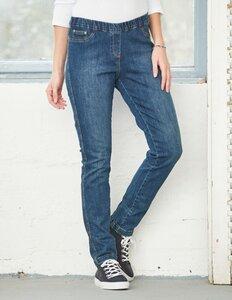 Slim-Fit-Jeans Tammy mit Gummibund - aus Bio-Baumwolle - Deerberg