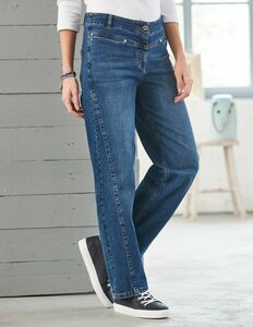 Relaxed-Fit-Jeans aus Bio-Baumwolle - Deerberg