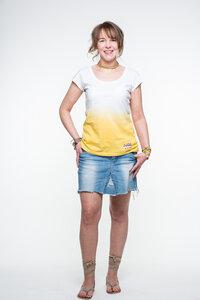 Anagram: Shirt Dip-Dye Gelb - anagram