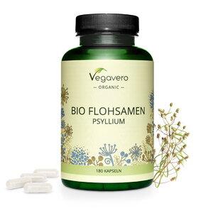 Bio Psyllium (Flohsamen) Kapseln - Vegavero