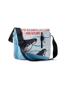 Tasche Scholl Bag Josep aus recycelten Fischfuttersäcken - Beadbags