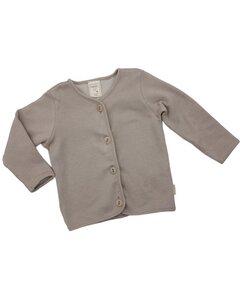 Baby Jäckchen olivgrün - Lana naturalwear