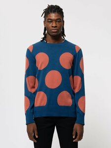 Nudie Jeans - Pullover Hampus Dots - Nudie Jeans