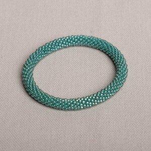 Armband aus Glasperlen handgefertigt in Nepal - Maheela