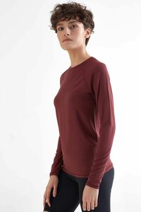 Damen Soft-touch Langarmshirt in 3 Farben aus Micromodal T-Shirt 1110 - True North