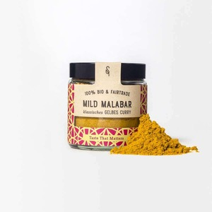 Mild Malabar - Gelbes Curry Bio 50g - SoulSpice