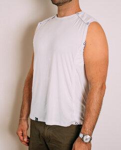 Herren Fahrrad Shirt Schweißundurchlässig & Atmungsaktiv Weiß - DRYCYCLE