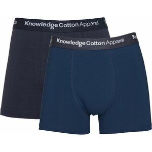 Underwear MAPLE 2Pack Blau Grau - KnowledgeCotton Apparel