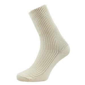 Grödo Damen / Herren Socken grobe Strickart Bio-Baumwolle - grödo