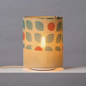 Tischleuchte Perlbohne N°11 aus Kaffeesack - lumbono