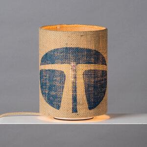 Tischleuchte Perlbohne N°7 aus Kaffeesack - lumbono