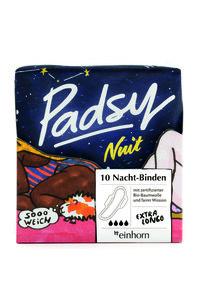 Padsy Nuit Nacht-Binden 10 Stück - Einhorn