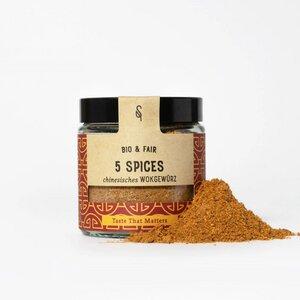 5 Spices Wokgemüse 45g BIO - SoulSpice