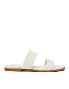 Strappy Slide #adria off white - NINE TO FIVE