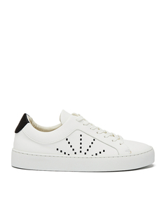 Laced Sneaker #gràcia white micro - NINE TO FIVE