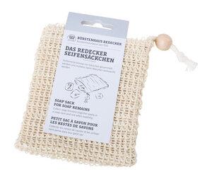 Seifensäckchen aus Baumwolle und Sisal - Bürstenhaus Redecker