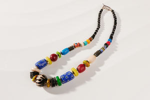 """Halskette aus afrikanischen Perlen """"MAIDUGURI"""" - PEARLS OF AFRICA"""