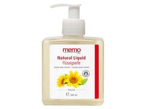 """memo Flüssigseife """"Natural Liquid"""" im Spender, 300 ml - memo"""