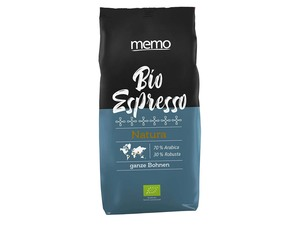 "memo Bio-Espresso ""Natura"" ganze Bohne - memo"