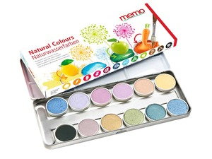 "memo Malkasten ""Natural Colours"" - memo"