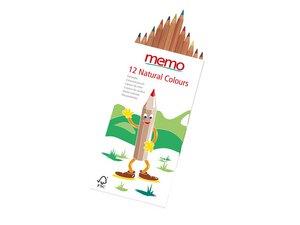 "memo Buntstifte ""Natural Colours"" - memo"