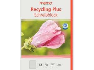 memo Schreibblock DIN A4 - memo