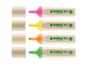 """edding Textmarker """"Highlighter 24"""" farbsortiert, 4 Stk. - Edding"""