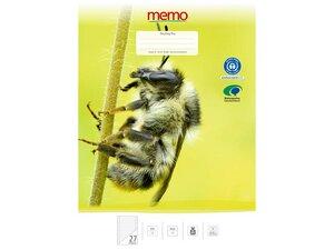 memo Schulheft DIN A4 - memo