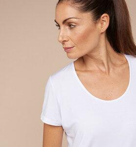 Damen-T-Shirt aus ökologischer Pflanzenfaser - CasaGIN