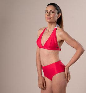 Öko-Bikini-Slip mit hoher Taille | Double face - CasaGIN