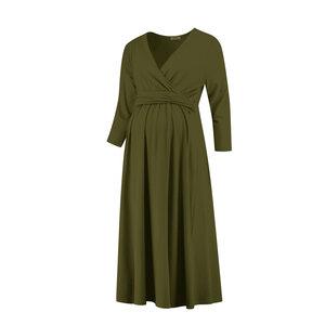 elegantes Umstandskleid Stillkleid mit 3/4 Ärmel  - Love2Wait