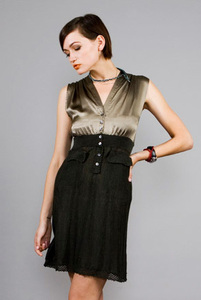 Silky Winthop Dress - Stewart+Brown