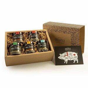 Sri Lanka BBQ Kollektion Geschenkbox Bio - SoulSpice