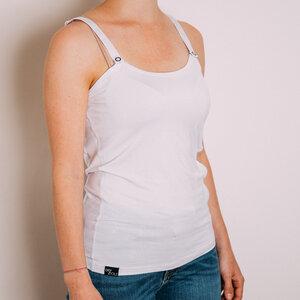 Damen Fahrrad Shirt Schweißundurchlässig & Atmungsaktiv Weiß - DRYCYCLE