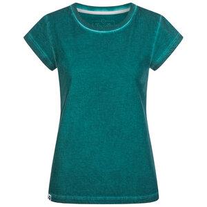 Damen Basic T-Shirt mit Effekt Waschung - Lexi&Bö