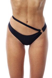 "Feminines Bikini Höschen ""Lanasia"" mit Ring aus recyceltem Nylon - LANASIA"