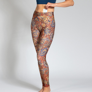 Yoga Leggings JAIPUR aus Komfort- Stretch mit Tasche - Magadi