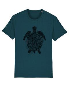 Herren T-Shirt Schildkröte aus Biobaumwolle stargazer  - ilovemixtapes