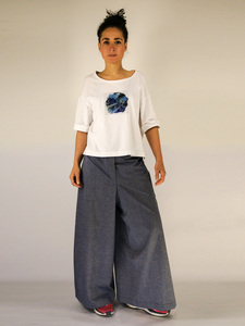 AQUA Shirt weiss - keijn