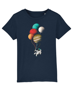Balloon Spaceman | T-Shirt Kinder - wat? Apparel