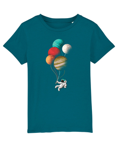 Balloon Spaceman | T-Shirt Kinder - wat? Apparel