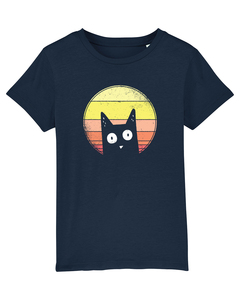 Sunset Cat | T-Shirt Kinder - wat? Apparel