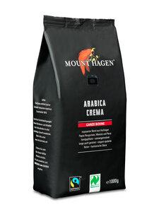 Bio Röstkaffee Arabica Crema, 1000 g ganze Bohne (10933) - Mount Hagen