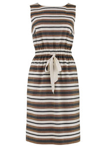 Jessica Stripe Shift Dress - People Tree