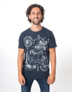 """Bio T-Shirt """"Bike all over"""" - Zerum"""