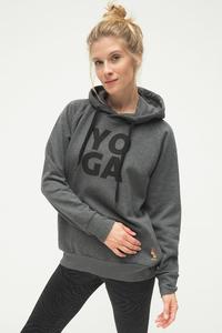 YOGA Hoodie Rudra - Grey Marl - Kismet Yogastyle