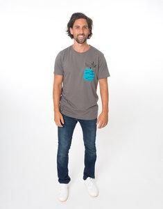 """Bio T-Shirt """"Fischer stone"""" - Zerum"""