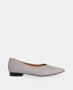 Ananas Gris - Flachschuhe mit grauem Ananasleder - Momoc shoes